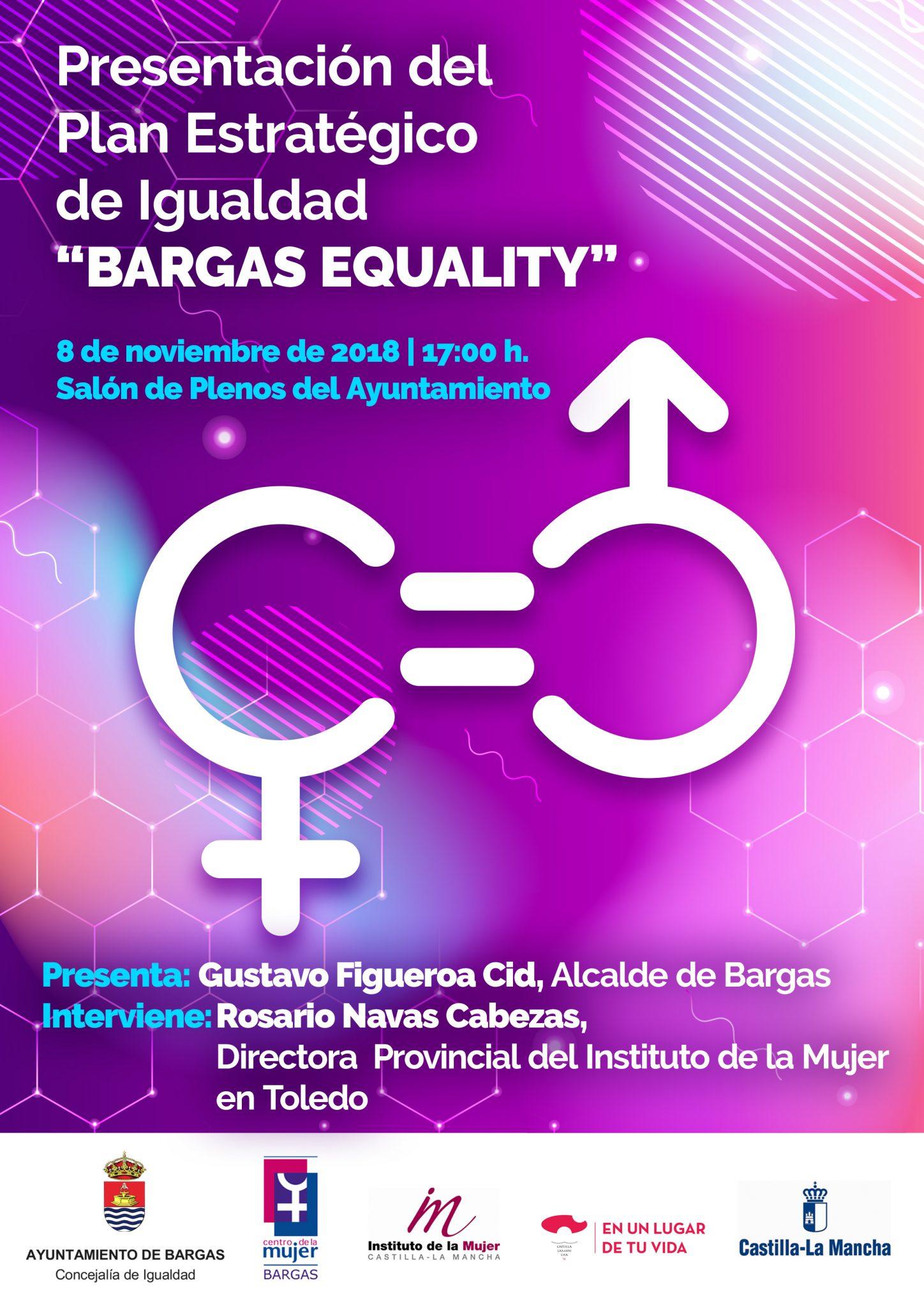 Presentación del Plan Estratégico de Igualdad: Bargas Equality