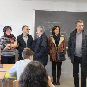 Inauguración de nuevas aulas en el I.E.S. Julio Verne