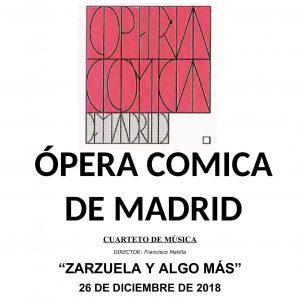 """Ópera Cómica de Madrid: """"Zarzuela y algo más"""""""