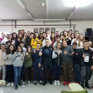 Finalizada la campaña de prevención sobre el acoso escolar y los riesgos en las redes sociales realizada en diferentes centros educativos en la localidad de Bargas