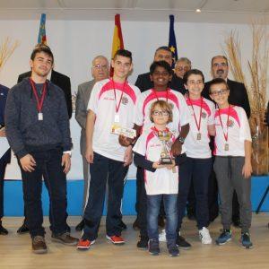 El Club de Ajedrez Bargas-Fundación Soliss, de nuevo un podium nacional: bronce en la XI Copa de España sub-12 de Benidorm