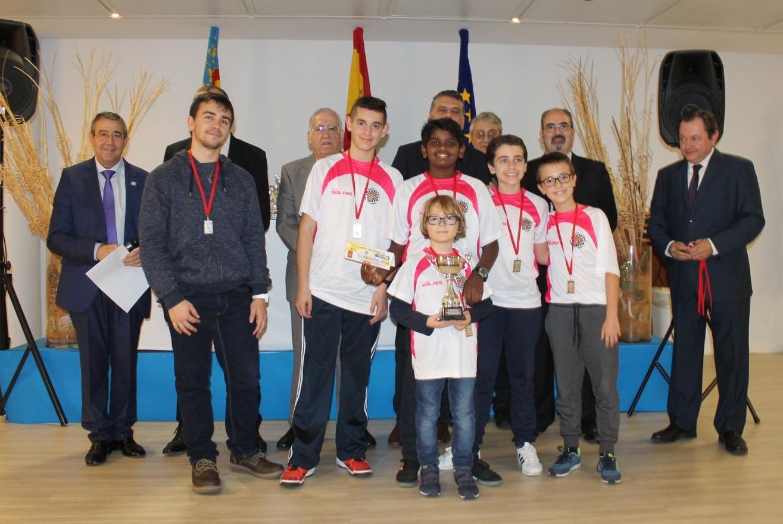 Bargas Fundación Soliss tercero Copa de España Sub-12 (II)