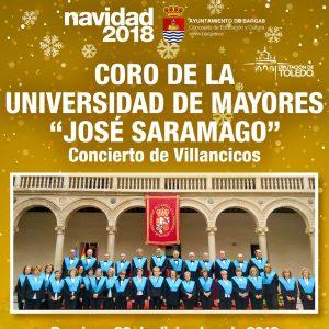 """Concierto de Villancicos a cargo del Coro de Mayores de la Universidad """"José Saramago"""""""