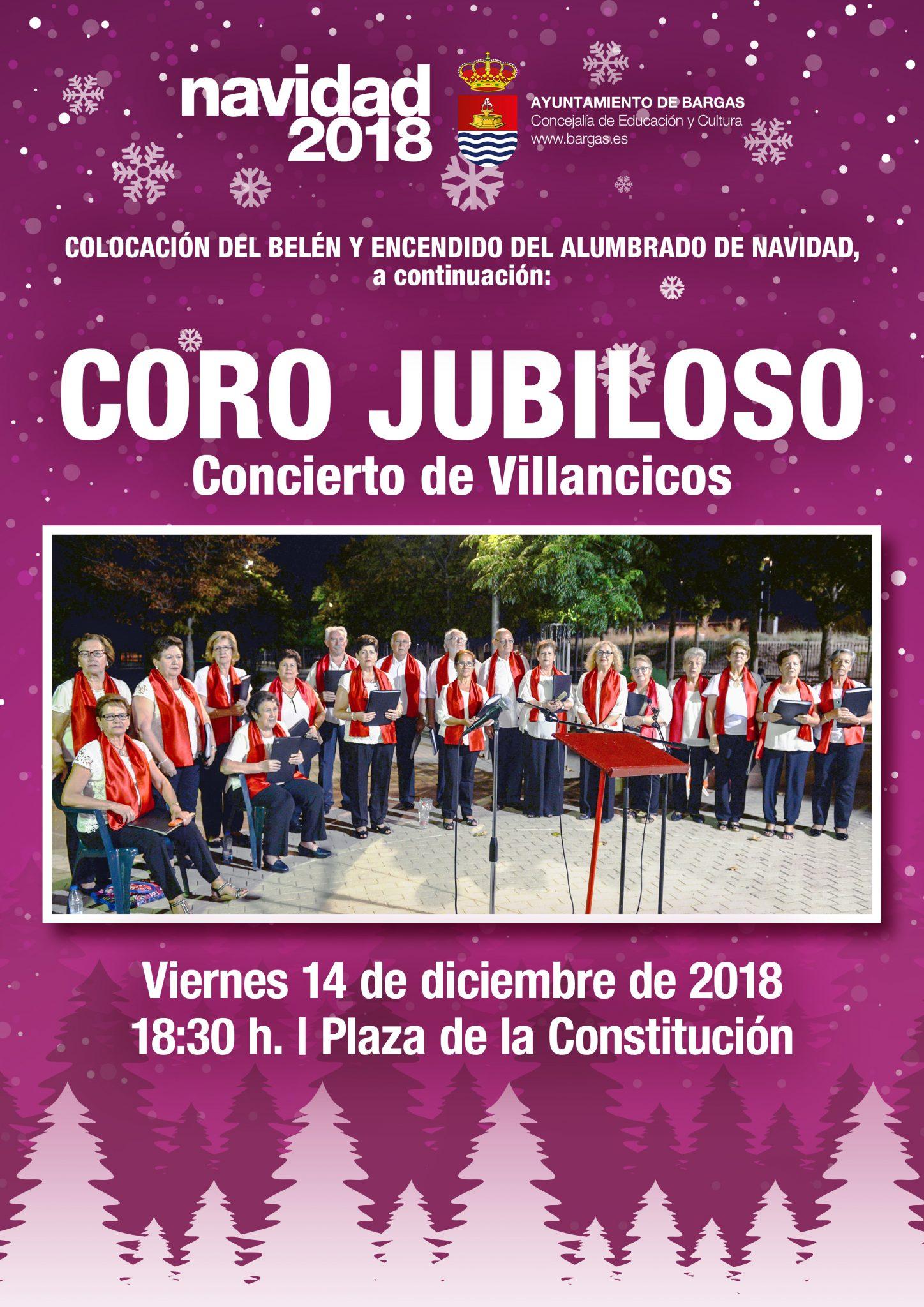 Concierto de Villancicos a cargo del Coro Jubiloso