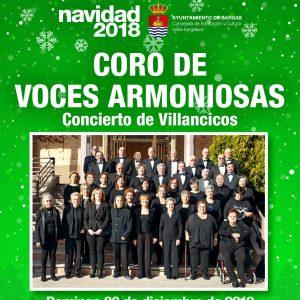 Concierto de Villancicos a cargo del Coro de Voces Armoniosas