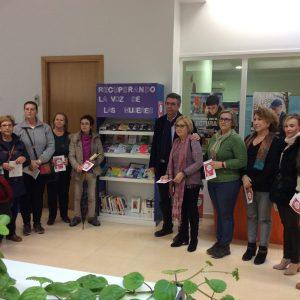 Inauguración del espacio bibliográfico y audiovisual de mujeres, «Recuperando la voz de las mujeres»