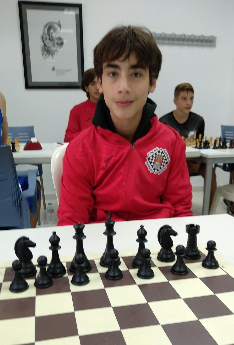Miguel Ruiz jugando