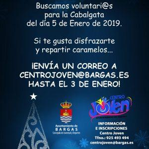 Voluntari@s para la Cabalgata de Reyes