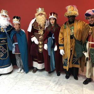 SS.MM.RR.MM llegan al municipio de Bargas un año más