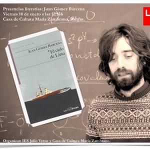 Presencias literarias: Juan Gómez Bárcena