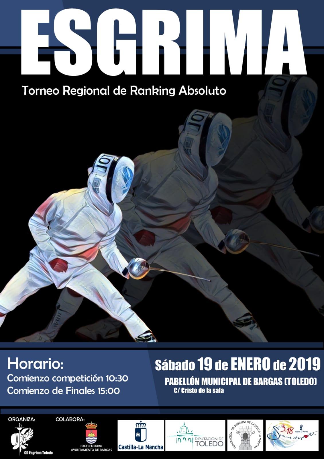 Esgrima: Torneo Regional de Ranking Absoluto