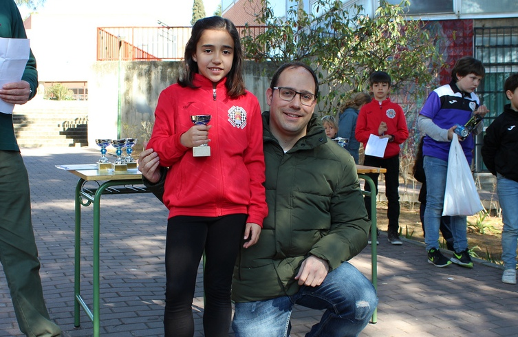 16. Elena Hernández, 3ª femenina Iniciación