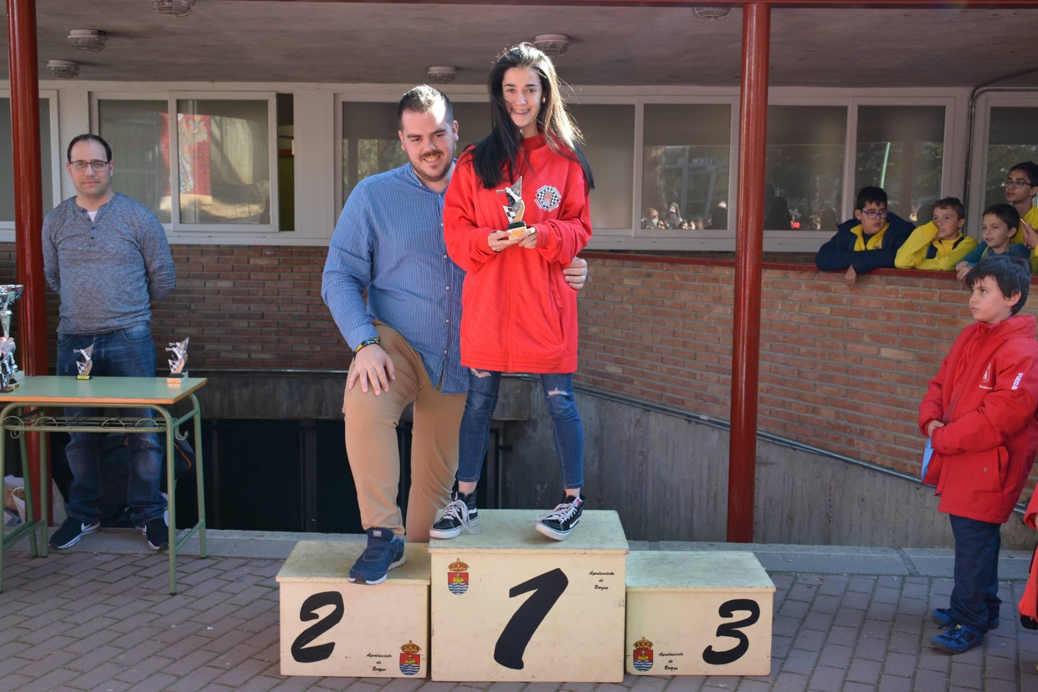 5. Isabel Pérez, campeona sub-18 F