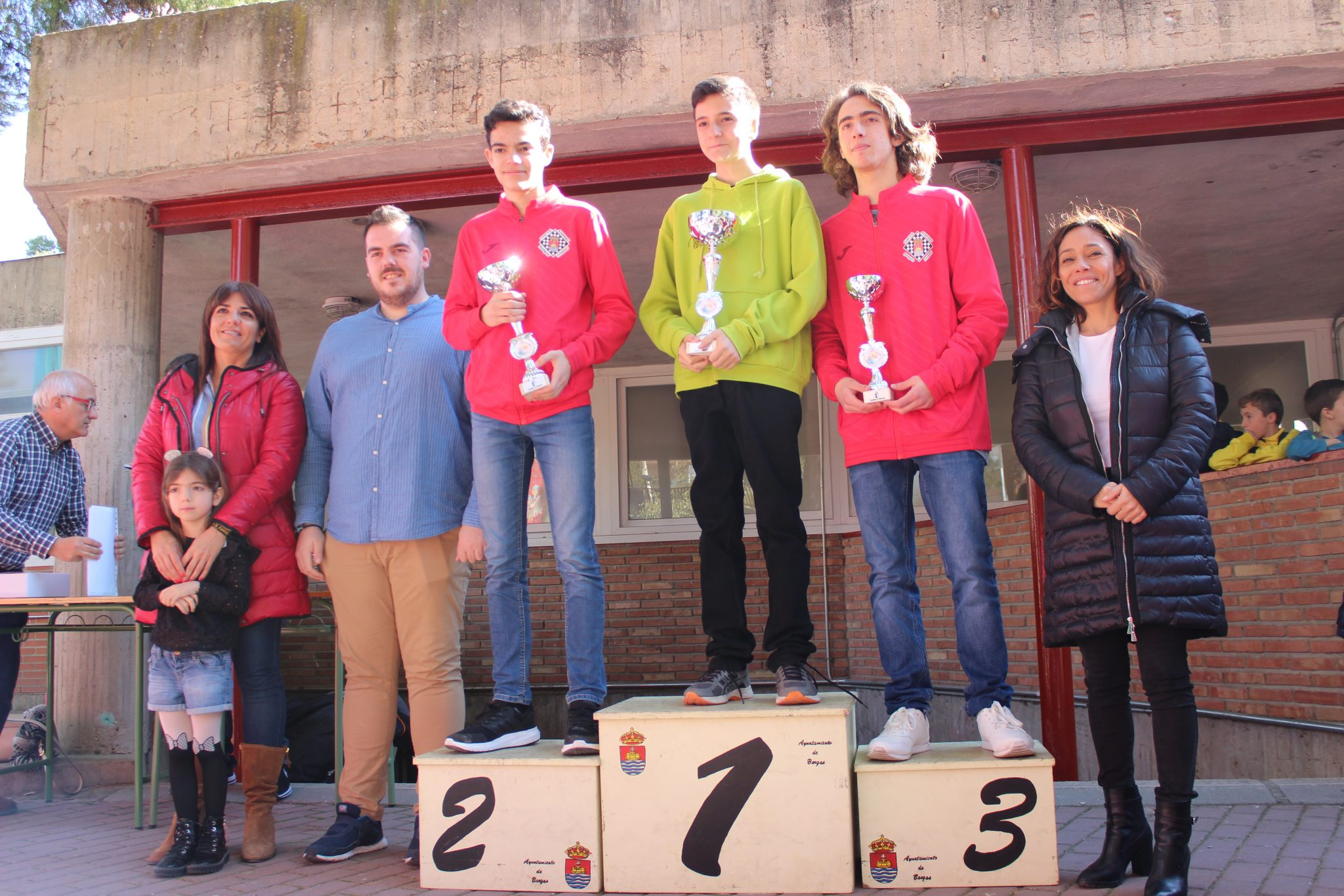 7. Mario y Diego podiums sub-16 M