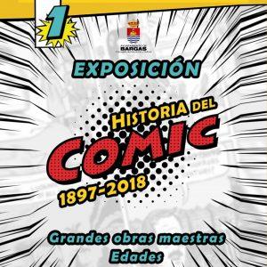 1ª Exposición Historia del Cómic 1897-2018