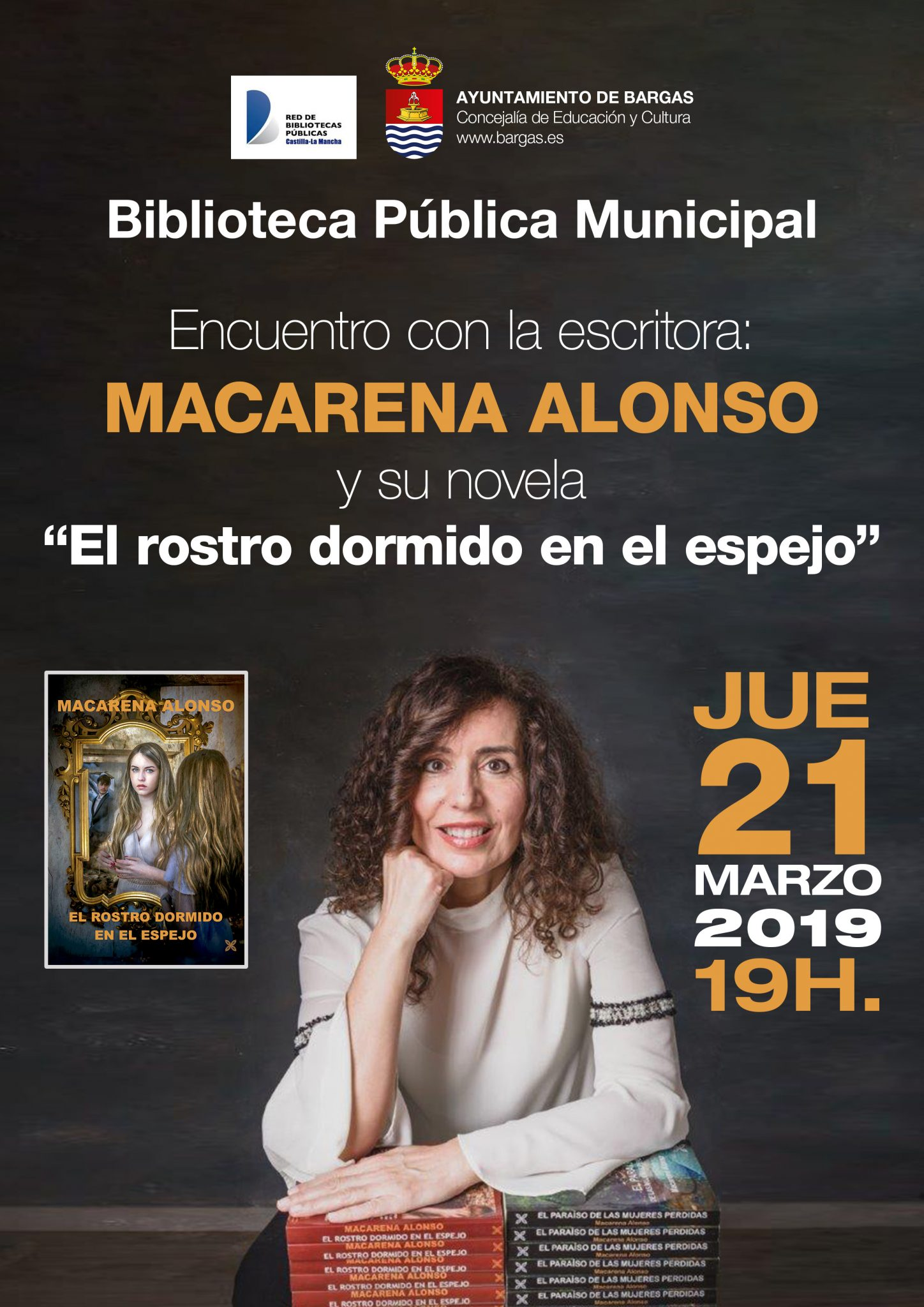 Encuentro literario con Macarena Alonso