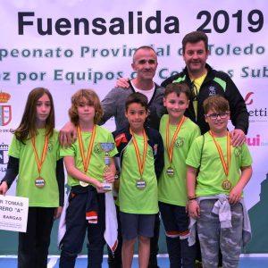 El Colegio Tomás Camarero, Campeón Provincial de ajedrez