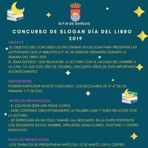 Concurso de slogan del Día del Libro 2019