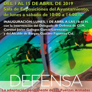 Exposición Defensa Nacional: La adaptación permanente de las Fuerzas Armadas