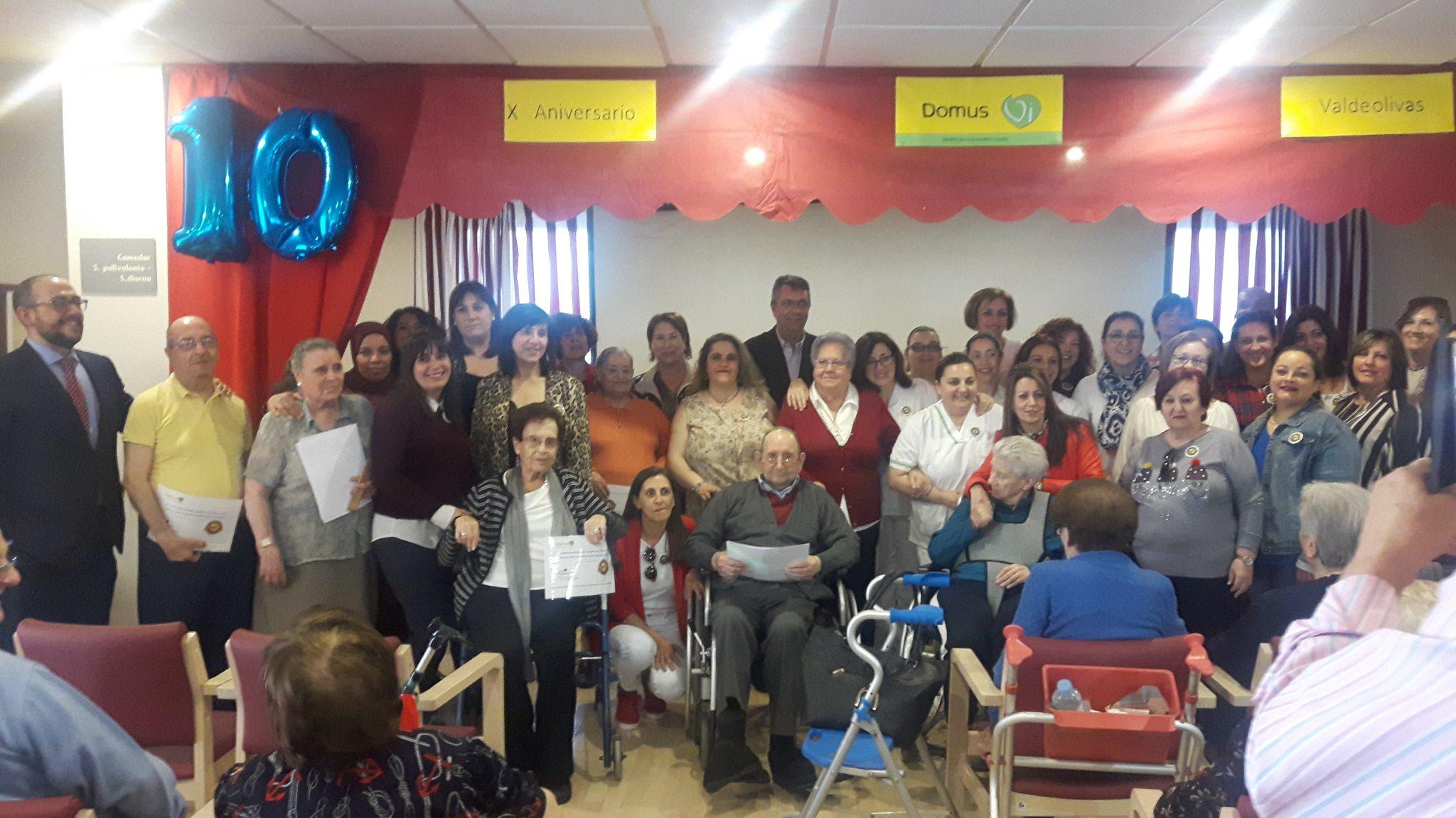 X Aniversario de la residencia de mayores de Bargas