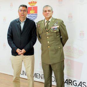 El Delegado de Defensa en Castilla-La Mancha visita Bargas