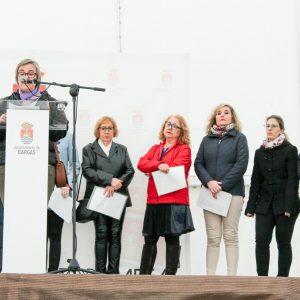 Acto institucional para conmemorar el Día de la Mujer