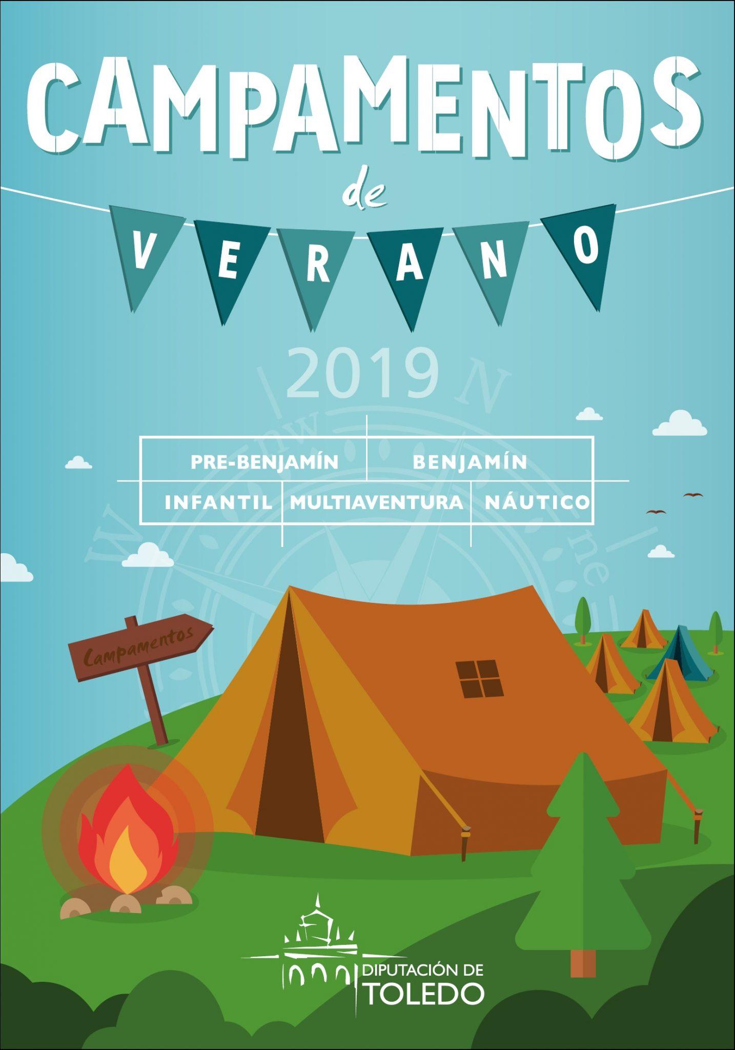 Campamentos de verano de la Diputación de Toledo 2019