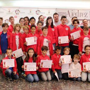 Al éxito de organización se suman los buenos resultados del Club de Ajedrez Bargas-Fundación  Soliss en los Regionales de ajedrez