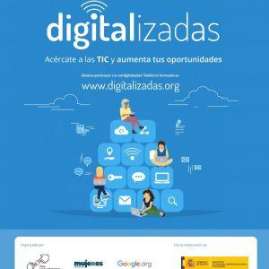 Digitalizadas: taller de habilidades digitales básicas. Iniciación.