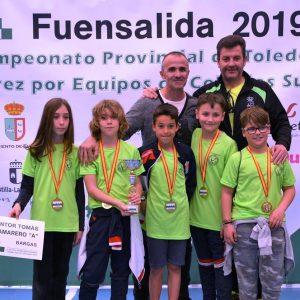 El Colegio Pintor Tomás Camarero, 10º en el VI Campeonato de España por equipos de colegios