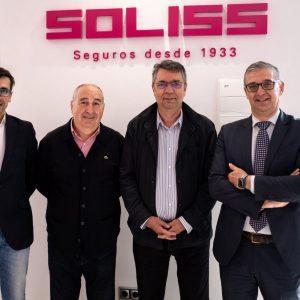El Ayuntamiento de Bargas firma un convenio con Soliss a favor del deporte municipal