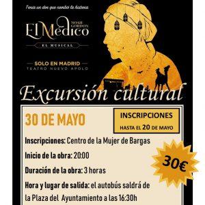 Excursión cultural: Musical «El médico»