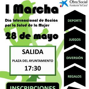 I Marcha Día Internacional de Acción por la Salud de la Mujer