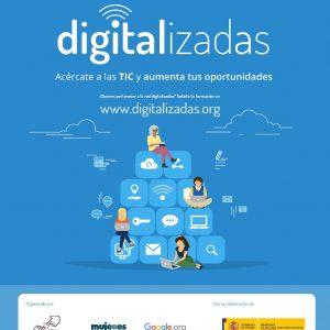 Digitalizadas: Taller de habilidades digitales para el empleo