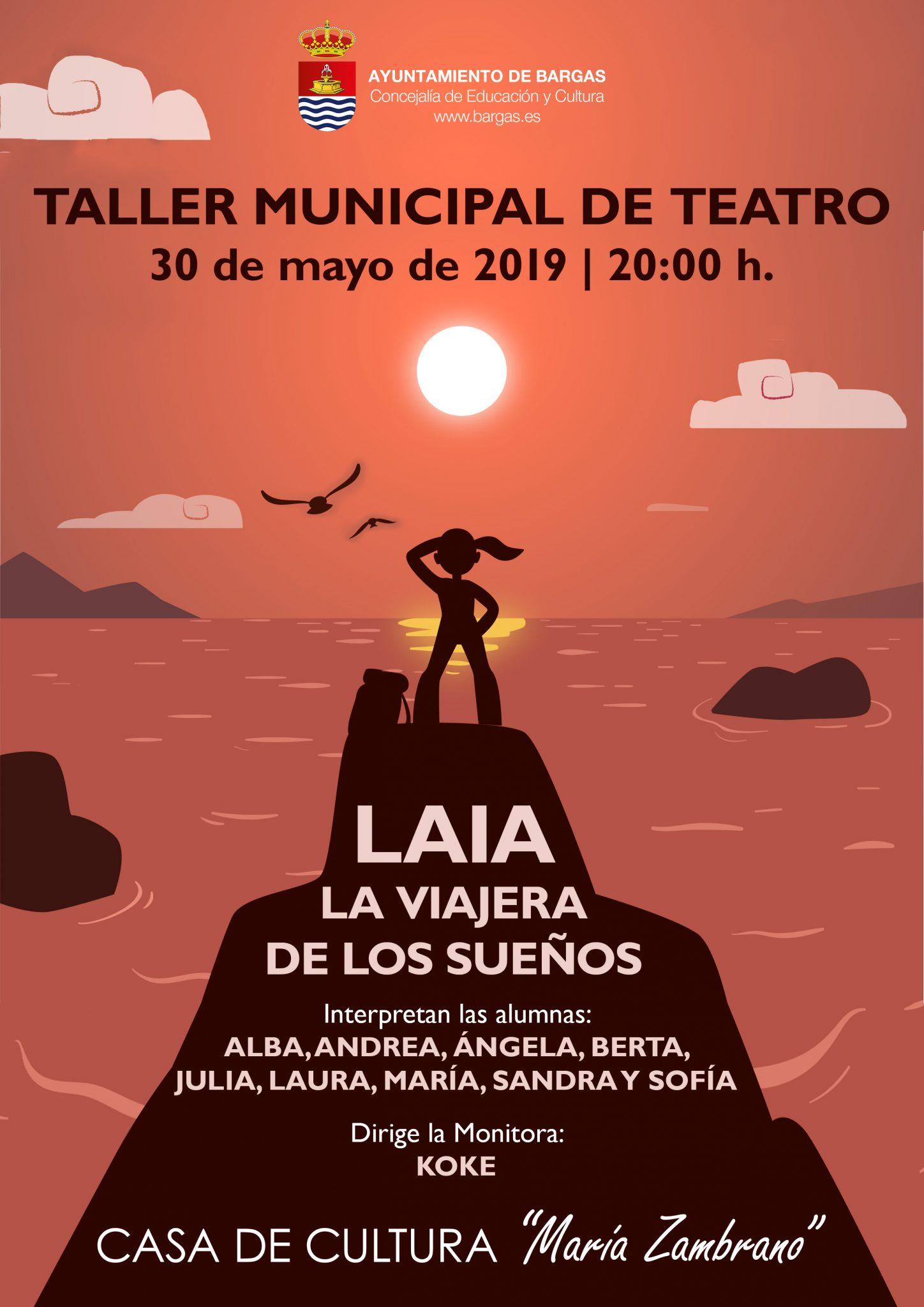 Taller Municipal de Teatro: Laia, la viajera de los sueños