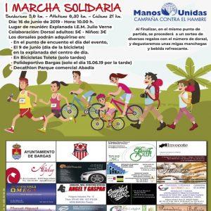 I Marcha Solidaria – Manos Unidas
