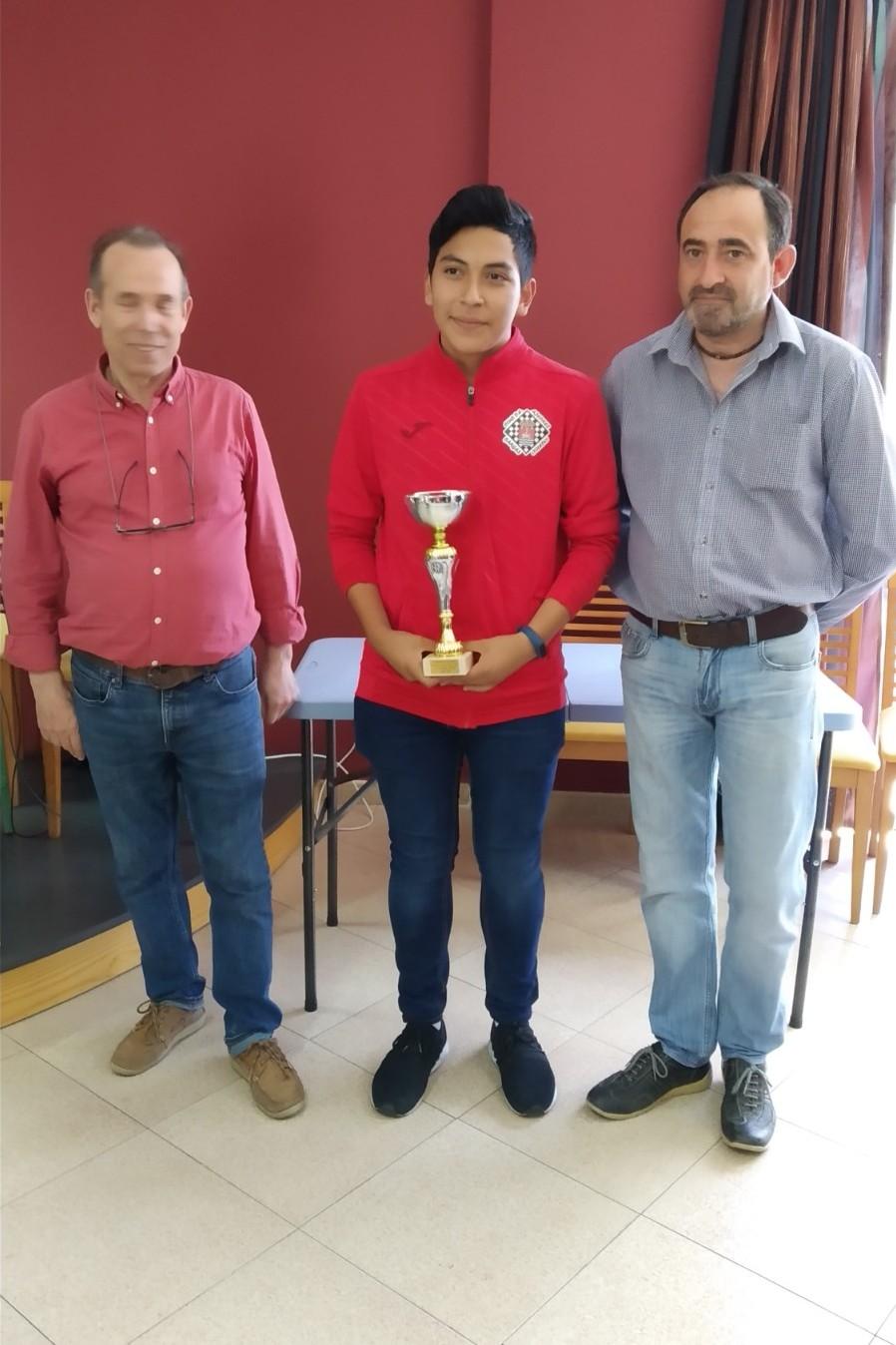 Luis campeón en Numancia