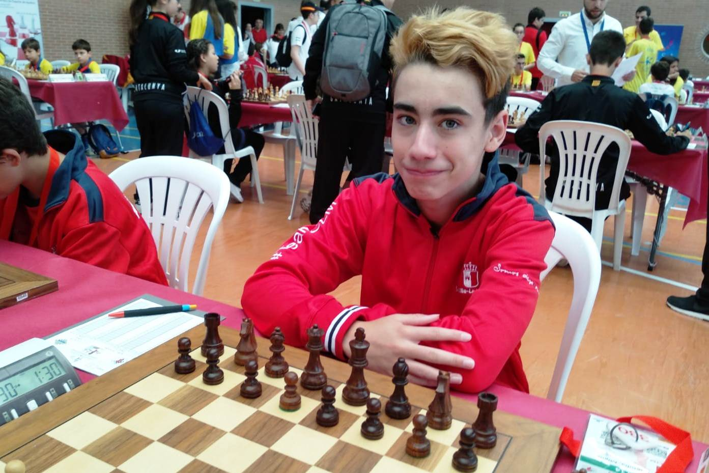 Miguel Ruiz en Pamplona