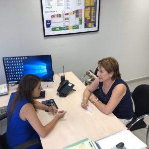 Isabel Tornero Restoy, Alcaldesa de Bargas, comienza una ronda de visitas a empresas para la generación de empleo para Bargas