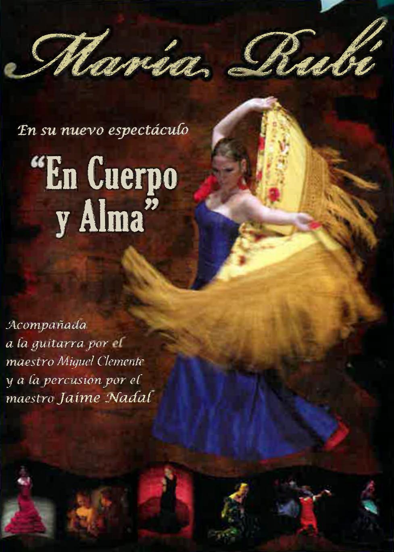 María Rubí: «En cuerpo y Alma»