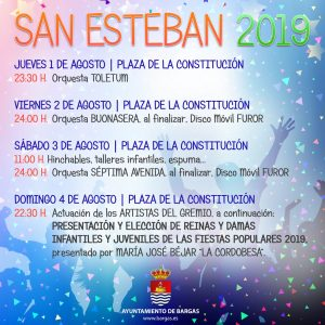 San Esteban 2019