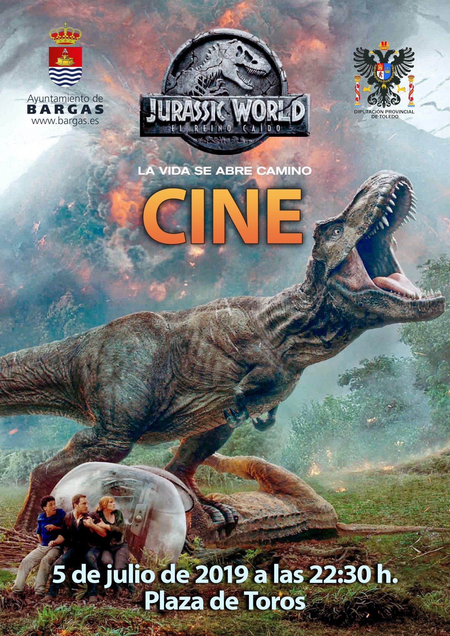 CINE: Jurassic World: El reino caído