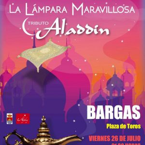 SUSPENDIDO – La Lámpara Maravillosa: Tributo a Aladdin
