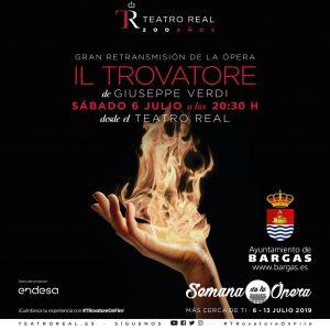 Retransmisión de la ópera: Il Trovatore de Giuseppe Verdi