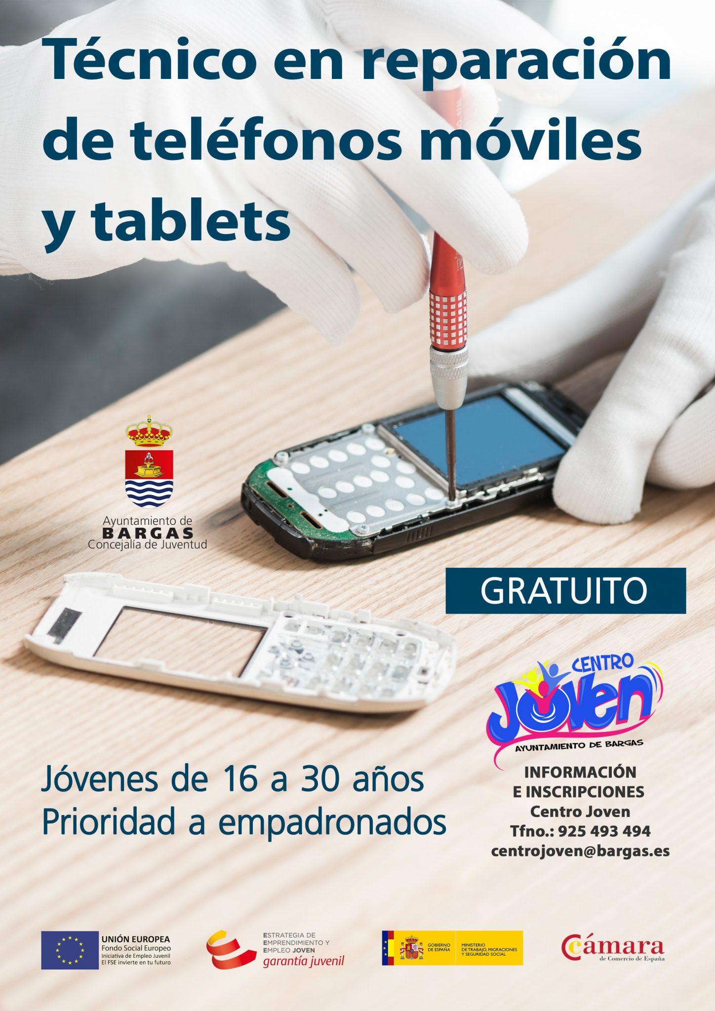 Curso: Técnico en reparación de teléfonos móviles y tablets