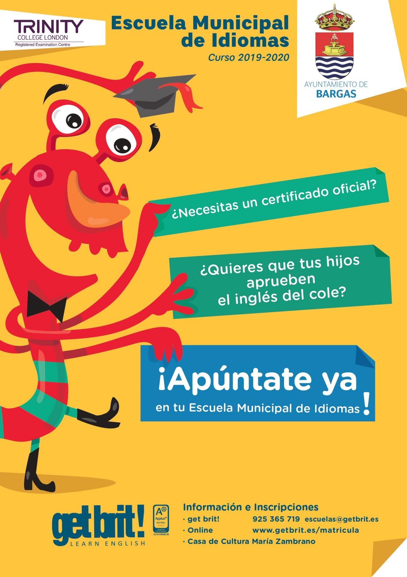 Escuela de Idiomas Curso 2019/2020