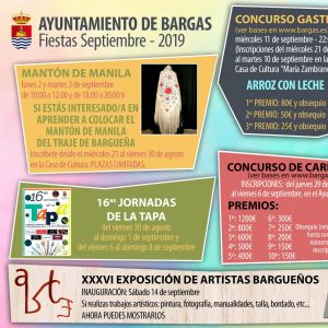Actividades Fiestas 2019