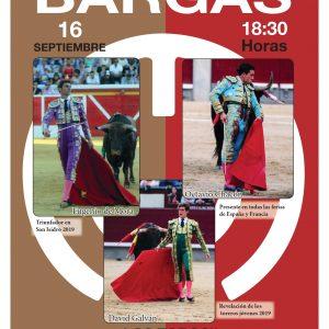 Presentación para el pueblo de Bargas del Cartel Taurino de las Fiestas Bargas 2019