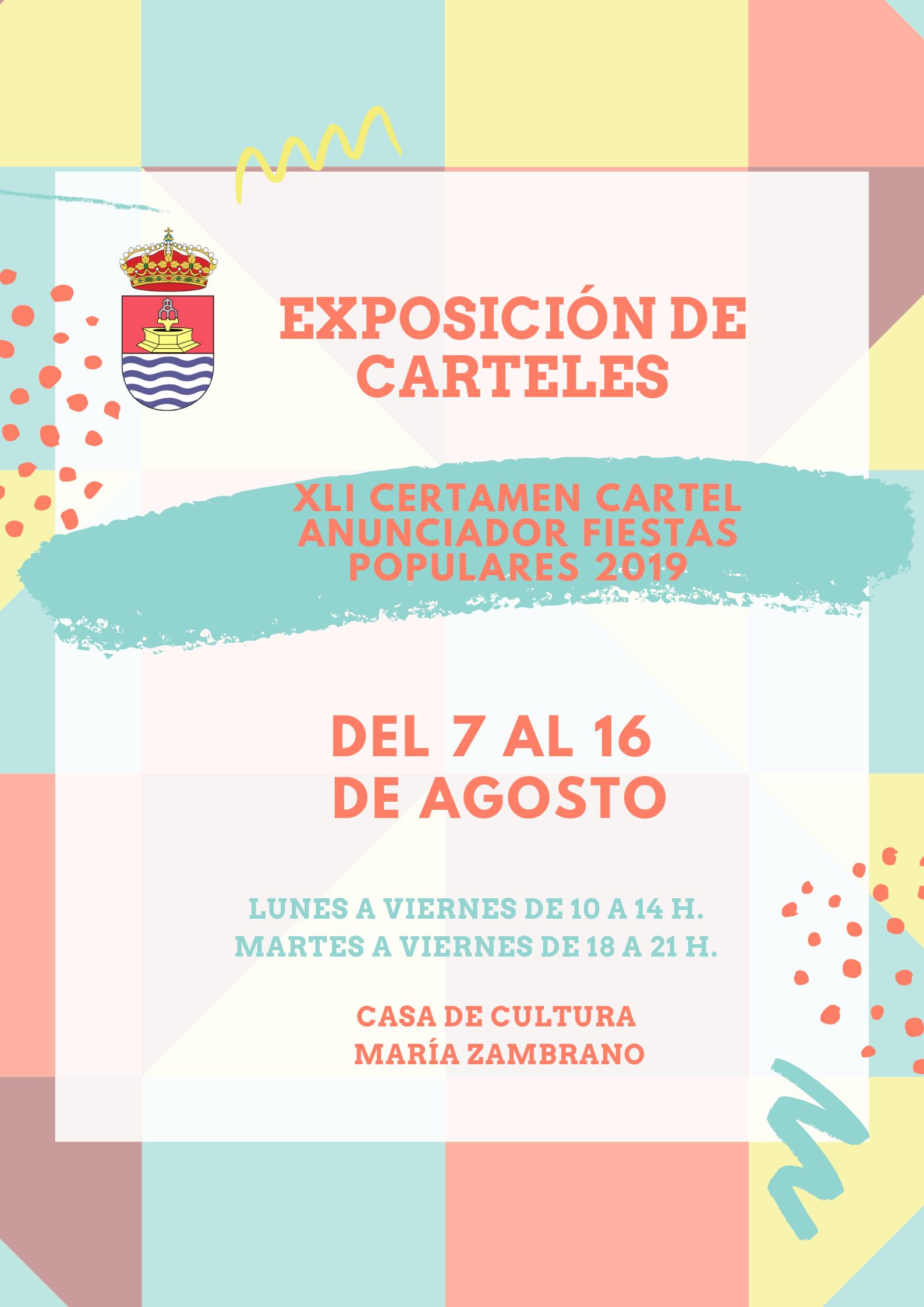 Exposición del XLI Certamen del Cartel Anunciador de las Fiestas Populares de 2019
