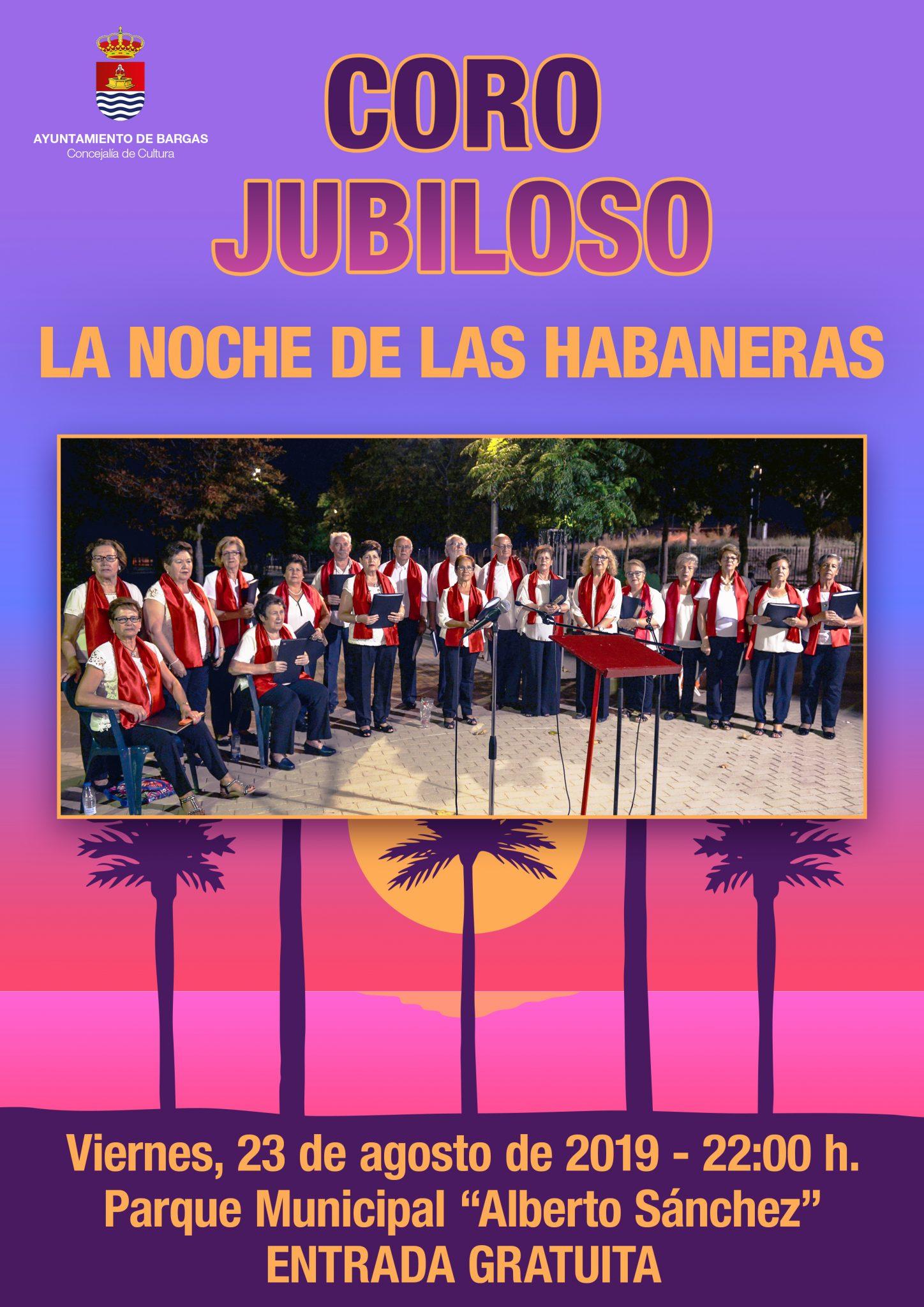 Concierto del Coro Jubiloso: La noche de las habaneras